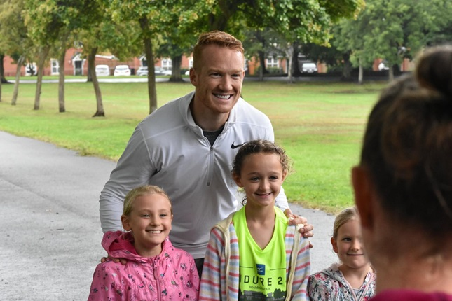 Greg Rutherford at teamparkrun