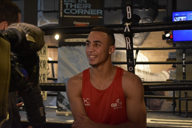 Boxing London Qualifier media event day