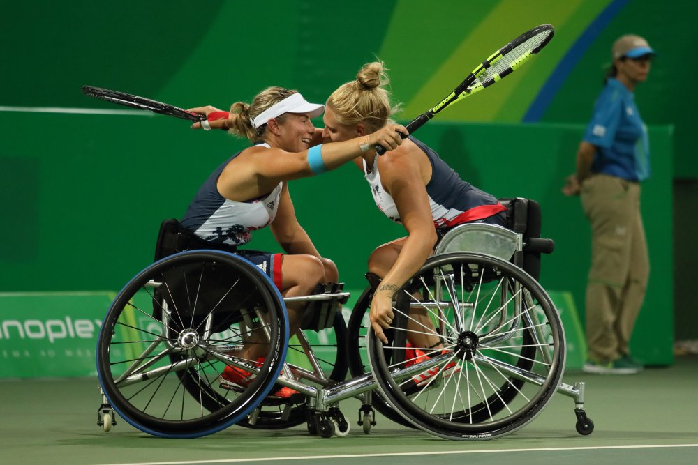 Image of Lucy Shuker, Jordanne Whiley