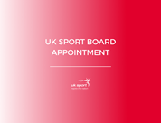 UK Sport Board Appointment