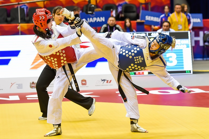 Charlie Maddock World Taekwondo Championships 2015 130515 rights free courtesy of GB Taekwondo 1